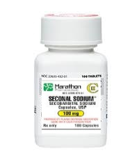 Secobarbital pills (Seconal)
